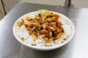 台北 金峰魯肉飯の魯肉飯