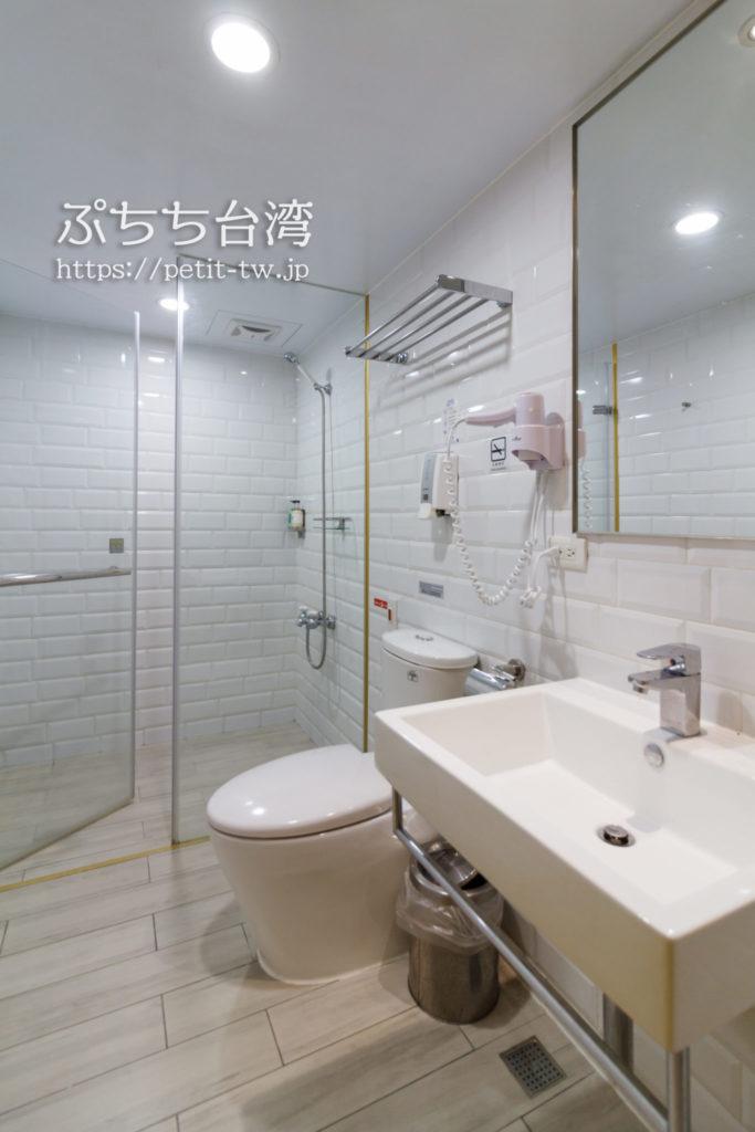 ブティシティカプセルイン台北の洗面室・トイレ