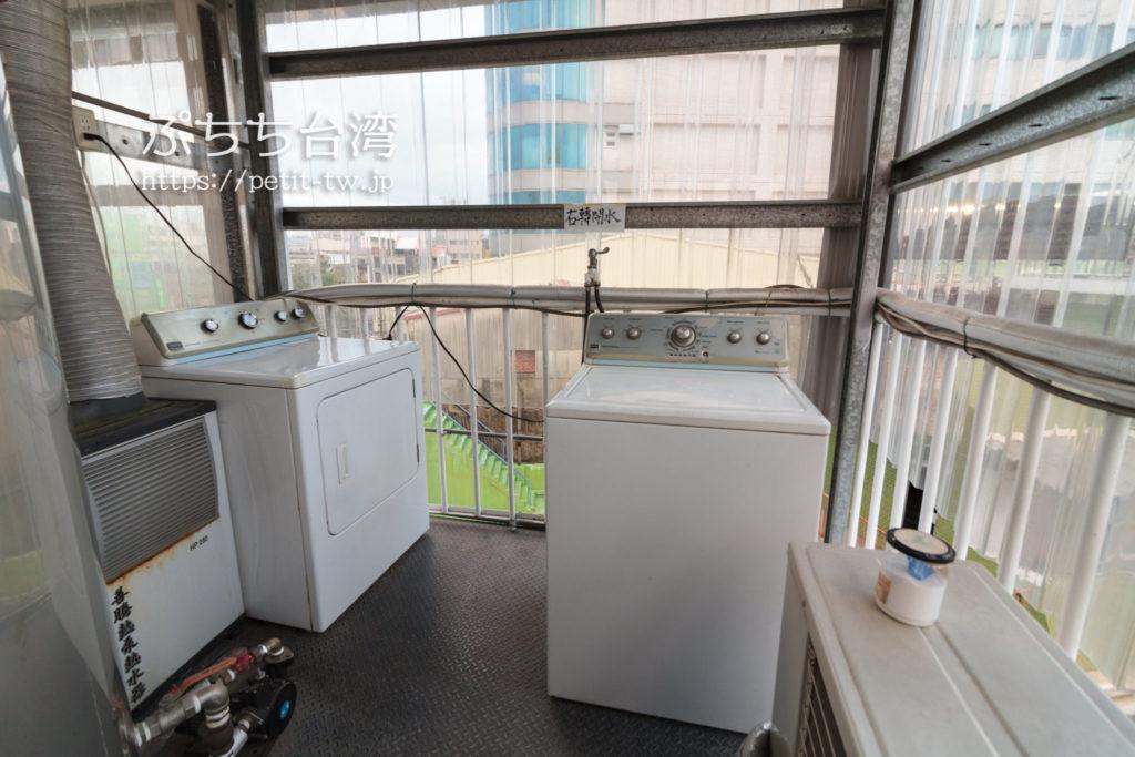 365.合日旅所の洗濯機