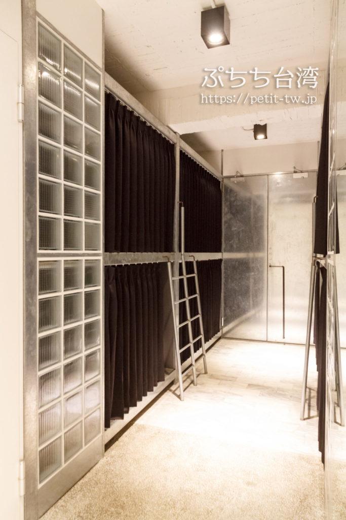 台南Hii Hubのドミトリールーム
