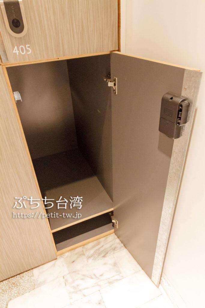 台南Hii Hubのロッカー