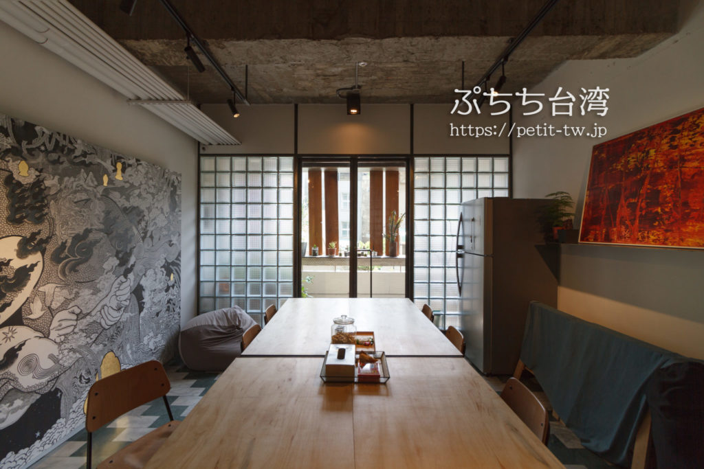 台南Hii Hubの共用スペース