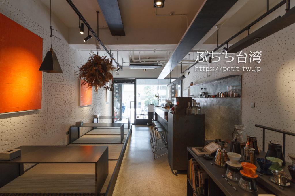 台南Hii Hubの1階カフェ