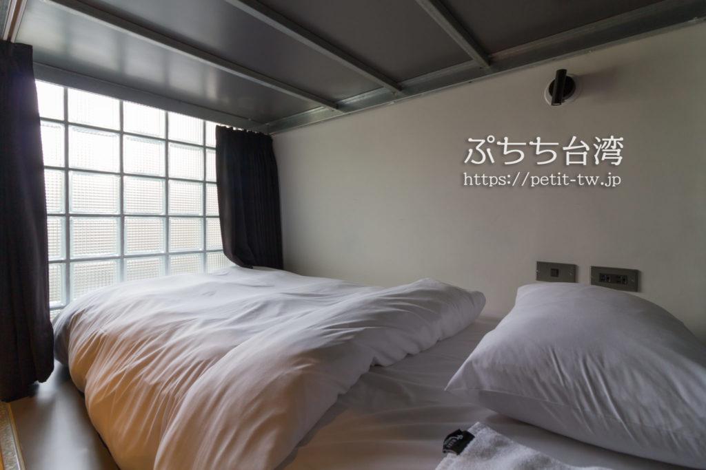 台南Hii Hubのベッド