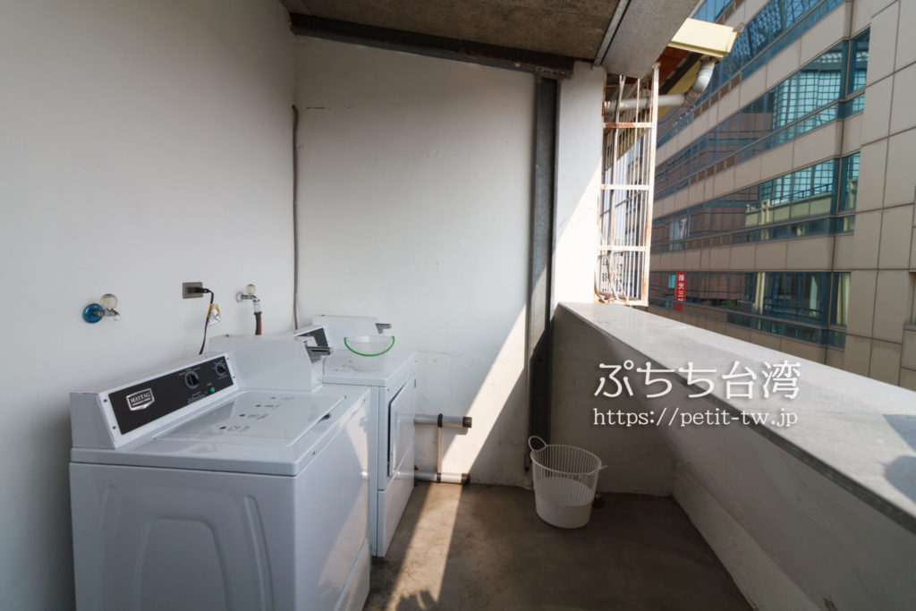 Hii Hubの洗濯機と乾燥機