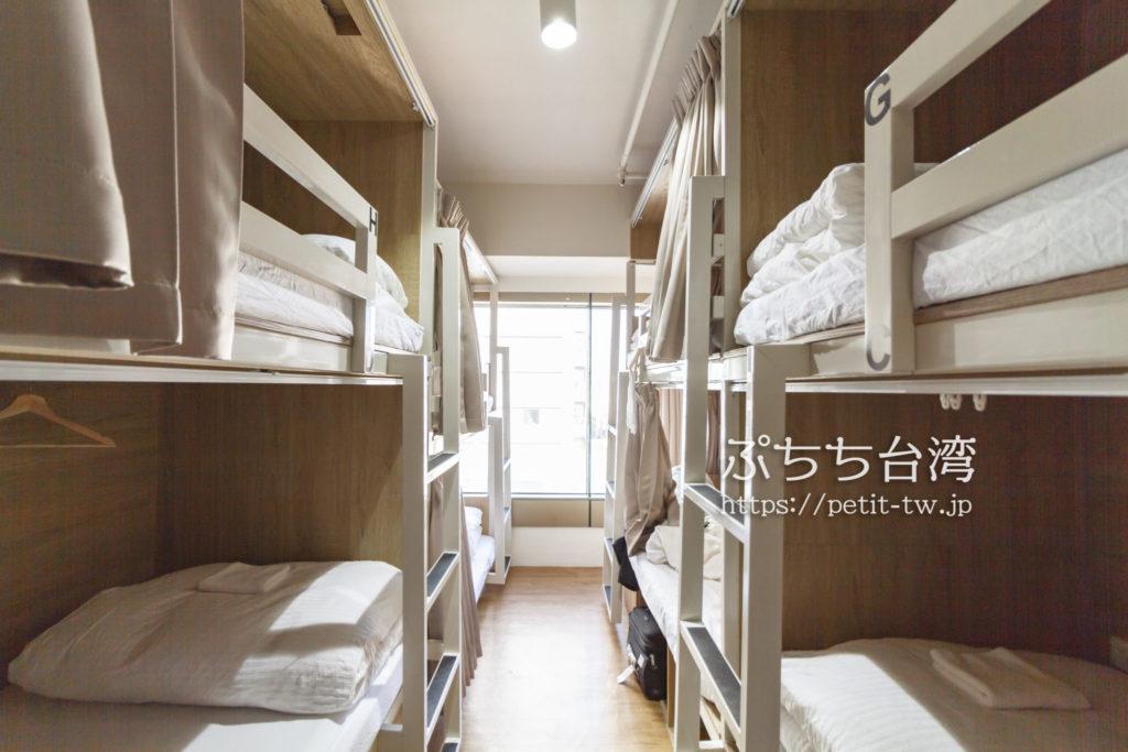 ペーパープレーンホステル ドミトリールームのお部屋