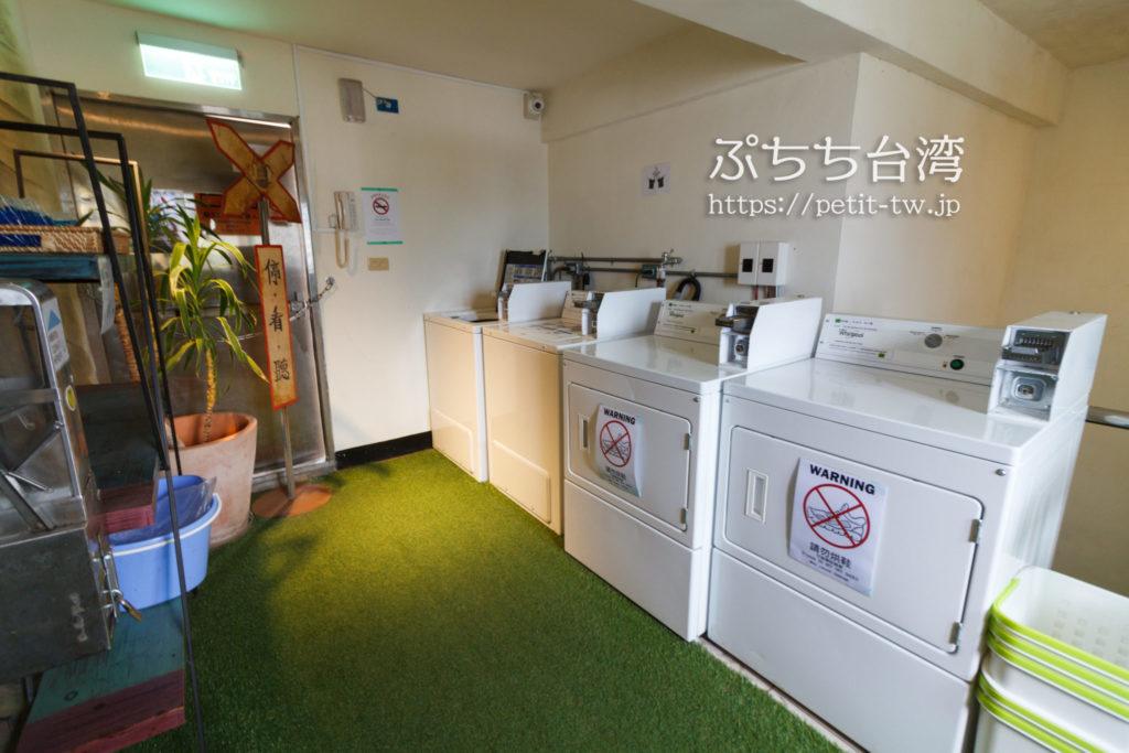 ワオホステル花蓮の洗濯機・乾燥機
