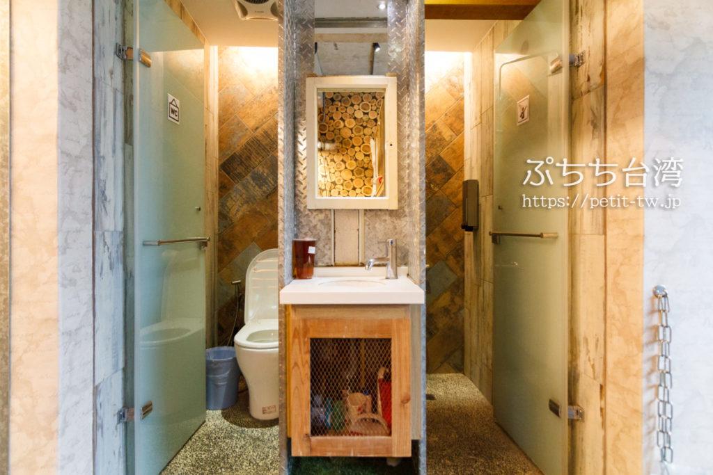 ワオホステル花蓮のトイレ・バスルーム