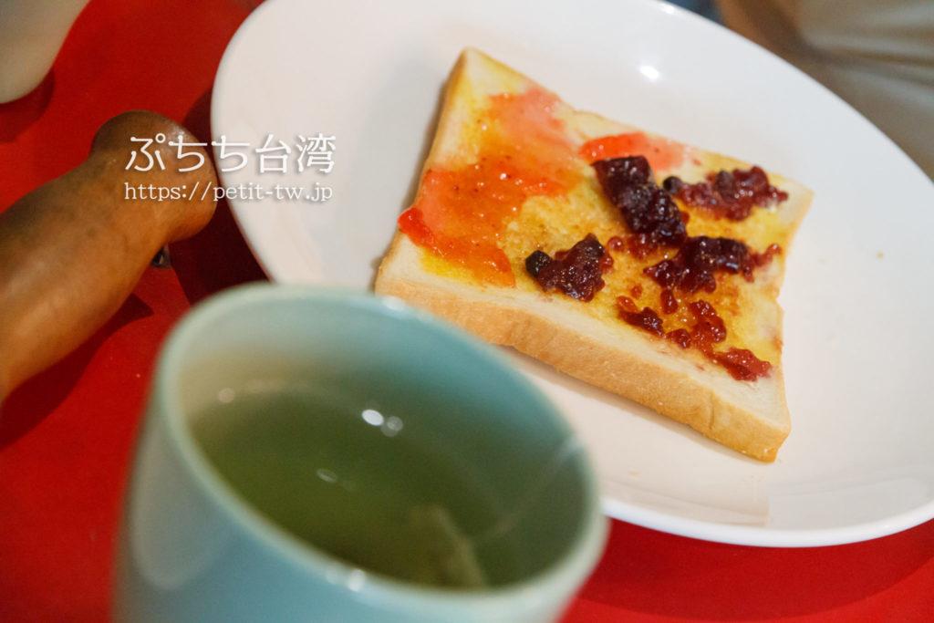 ワオホステル花蓮の朝食