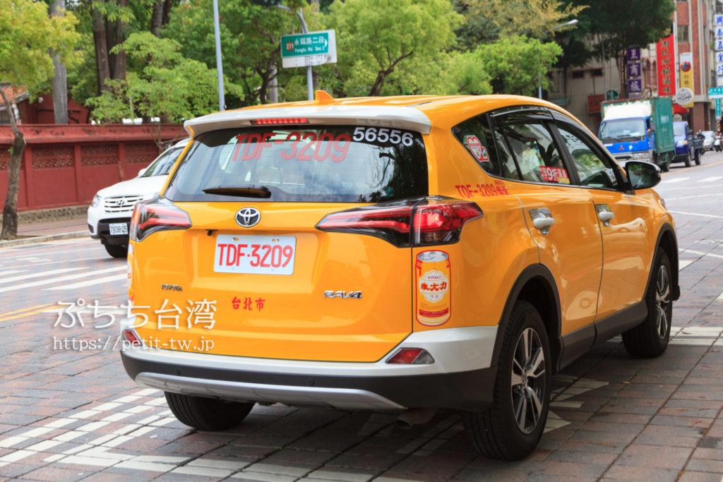 台南のタクシー