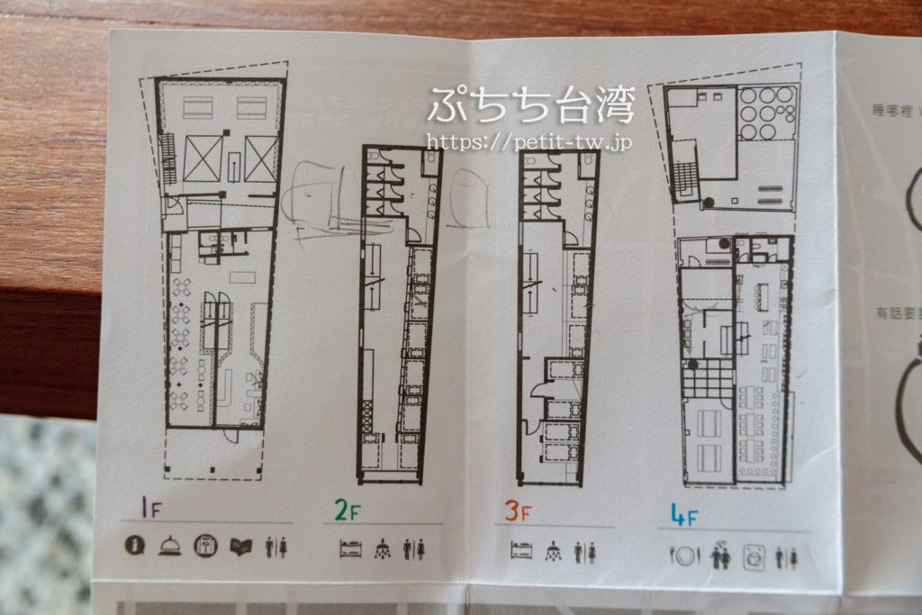 艸祭(草祭二手書店)のフロアマップ