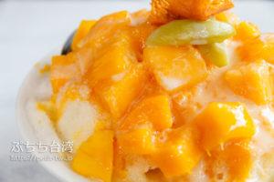 莉莉水果店のマンゴーかき氷