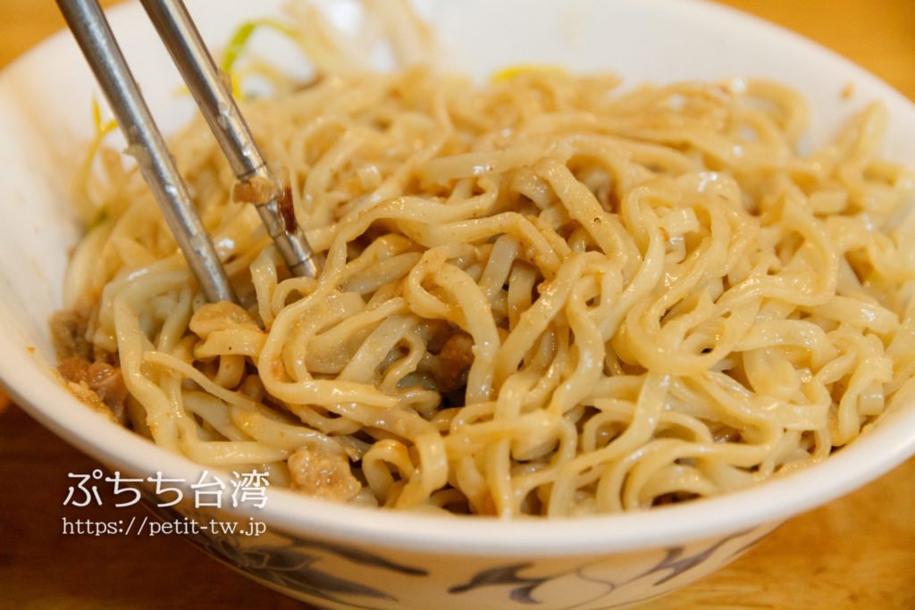 阿龍意面の意麺