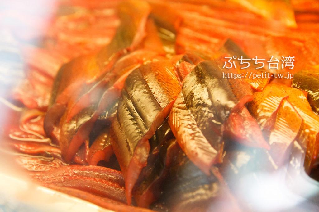 八三鱔魚意面のタウナギ