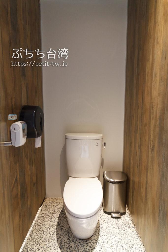 U.I.Jホテル&ホステルのトイレ