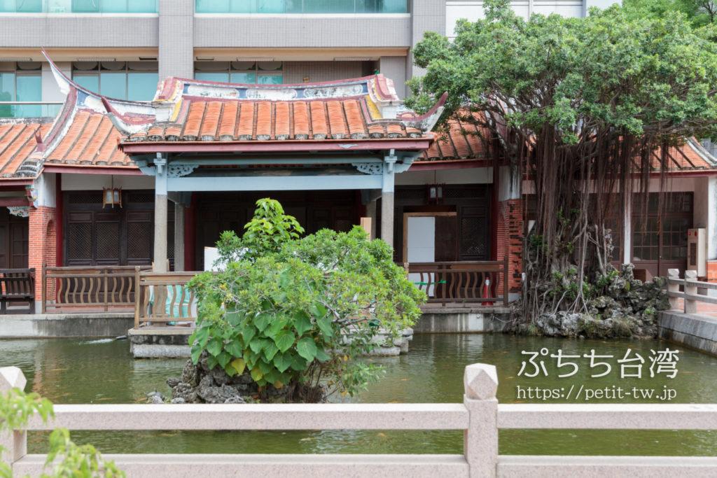 呉園の中国風庭園