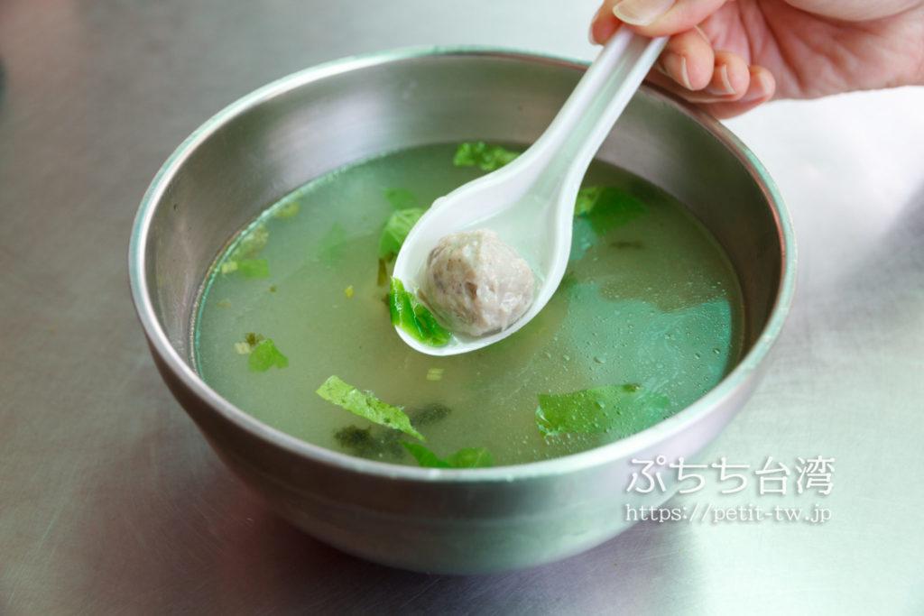 卓家汕頭魚麺のつみれ