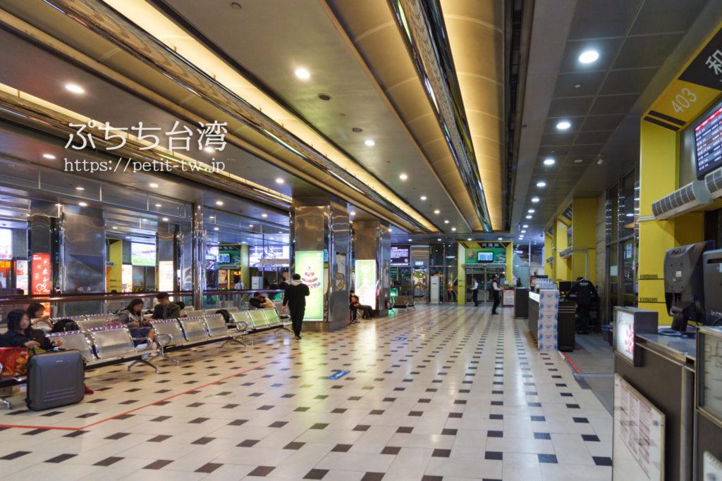 台北バスターミナル(台北轉運站)