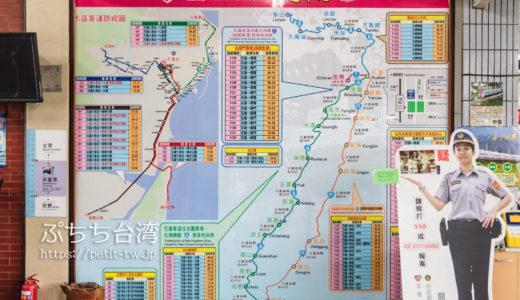 台湾鉄道(台鉄)の路線図
