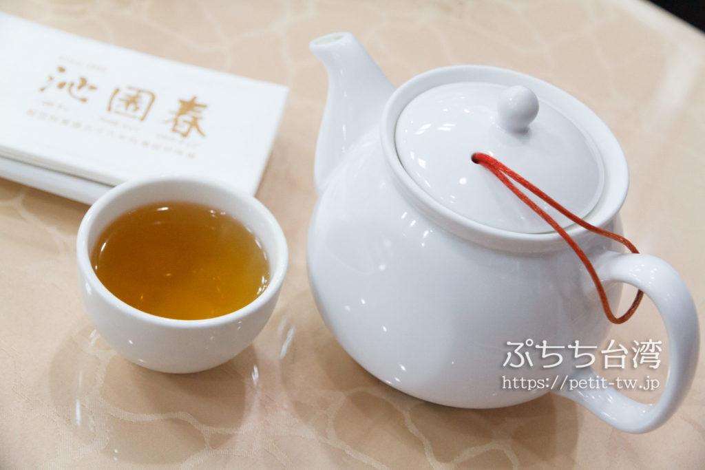 沁園春の日月潭紅茶