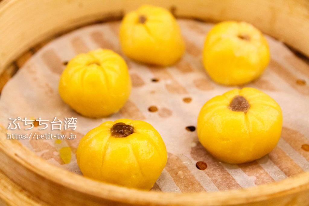 杭州小籠湯包のかぼちゃ芋餅
