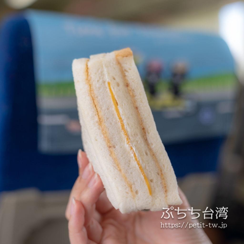 洪瑞珍餅店のピーナツサンドイッチ