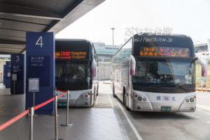 桃園国際空港の國光客運バス1819番線