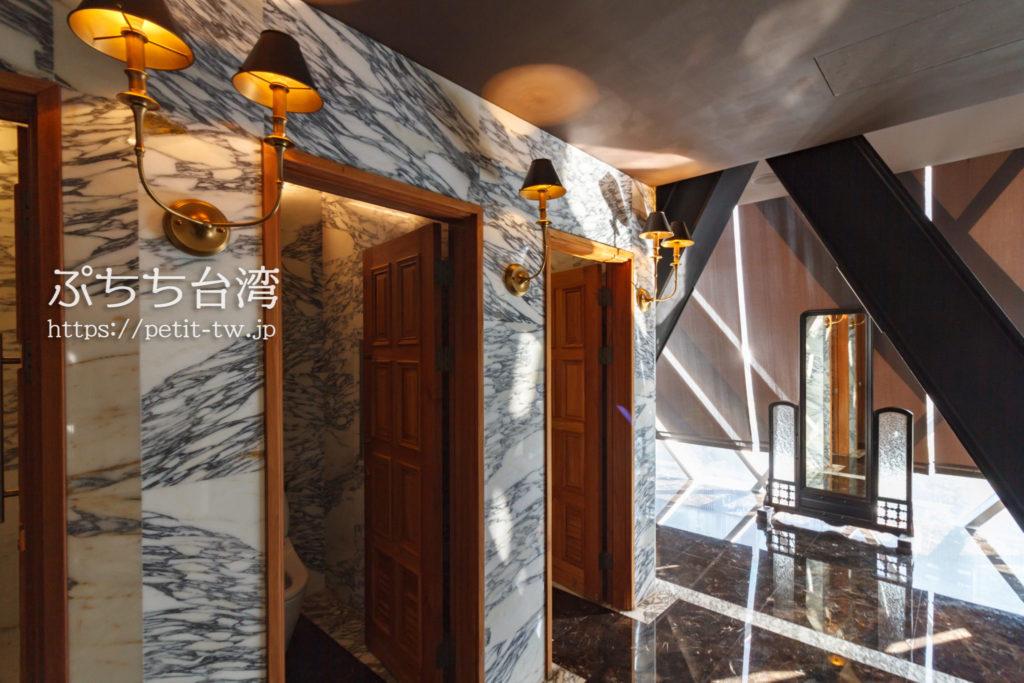 宮原眼科のレストランのトイレ