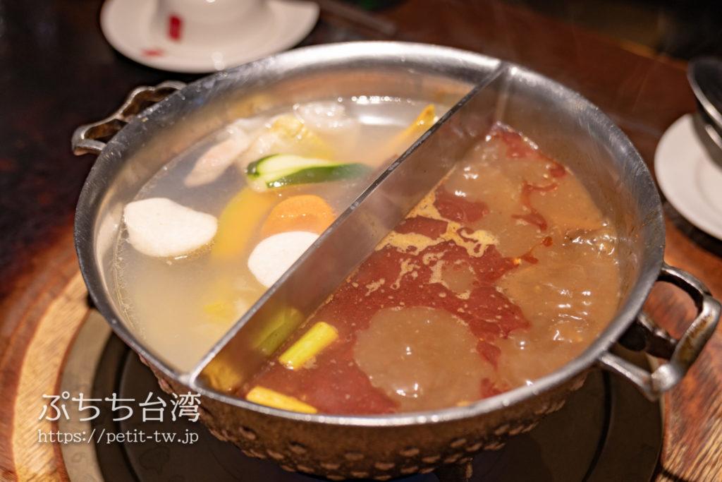 鼎王麻辣鍋の火鍋