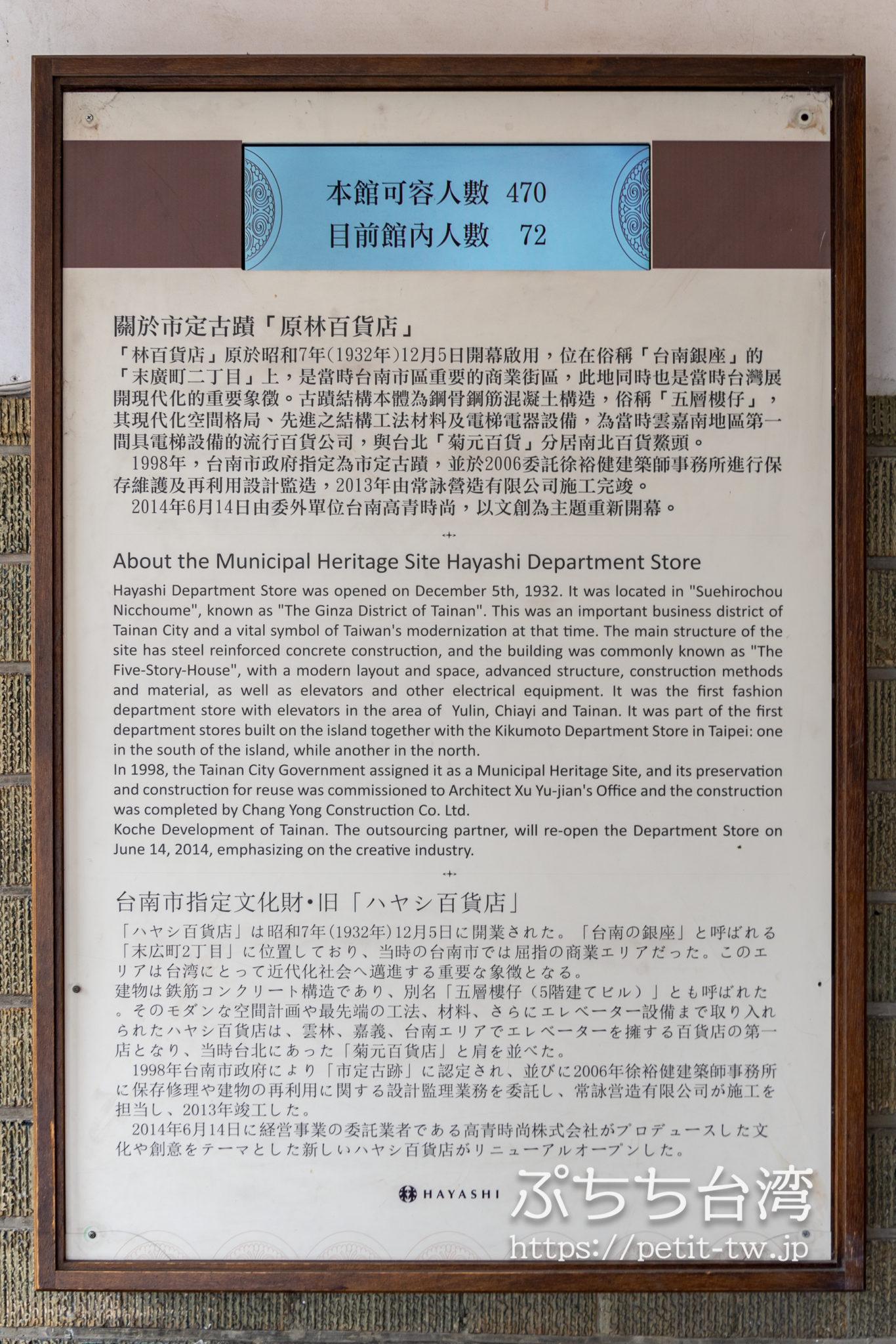 林百貨の歴史