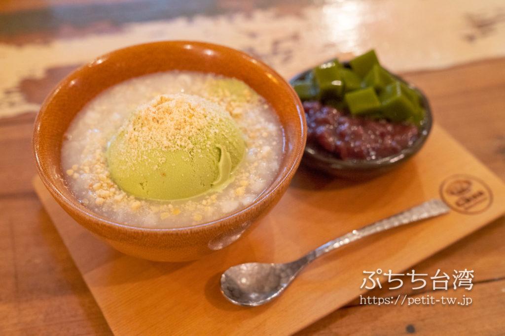 Chun純薏仁。甜点。の抹茶アイス