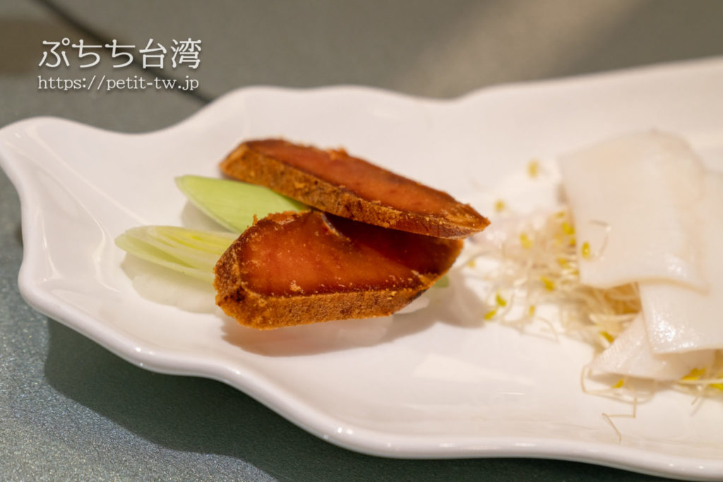 阿霞飯店のカラスミ
