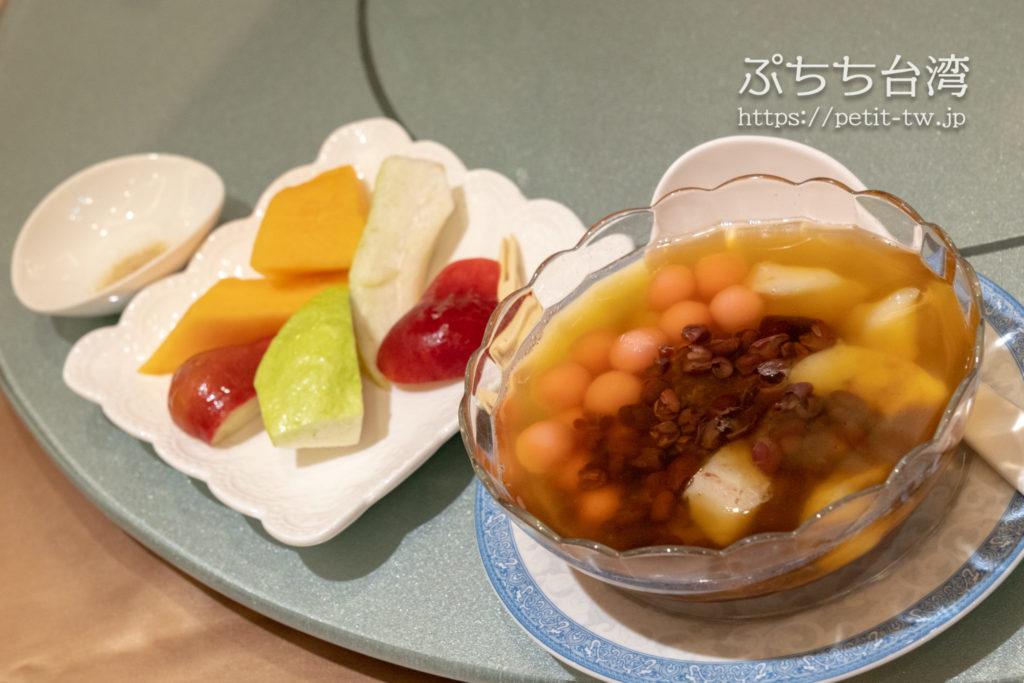阿霞飯店のコース料理