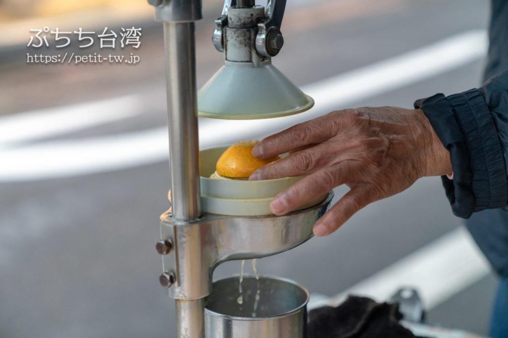 李文斌胡椒餅の隣のドリンクショップ