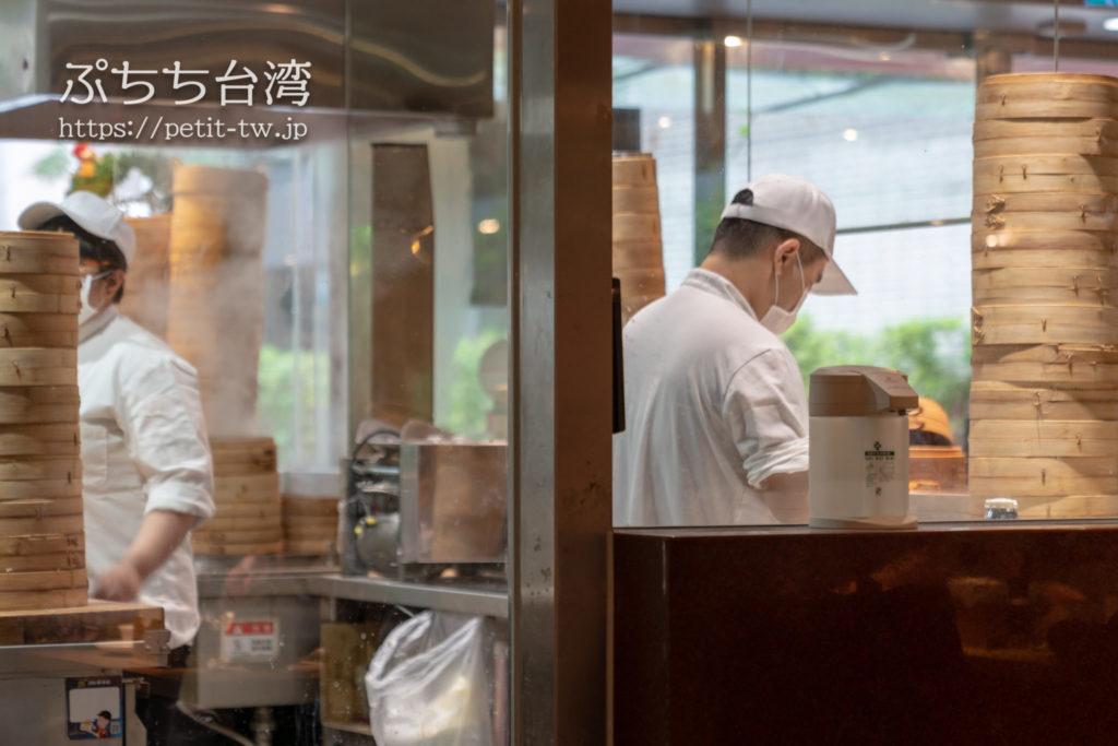 杭州小籠湯包民生東路店の店内