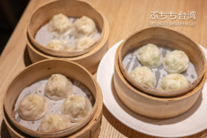 杭州小籠湯包民生東路店の小籠包