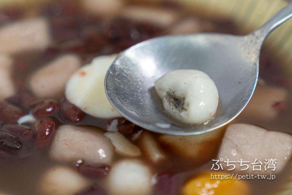 豆花荘の白玉