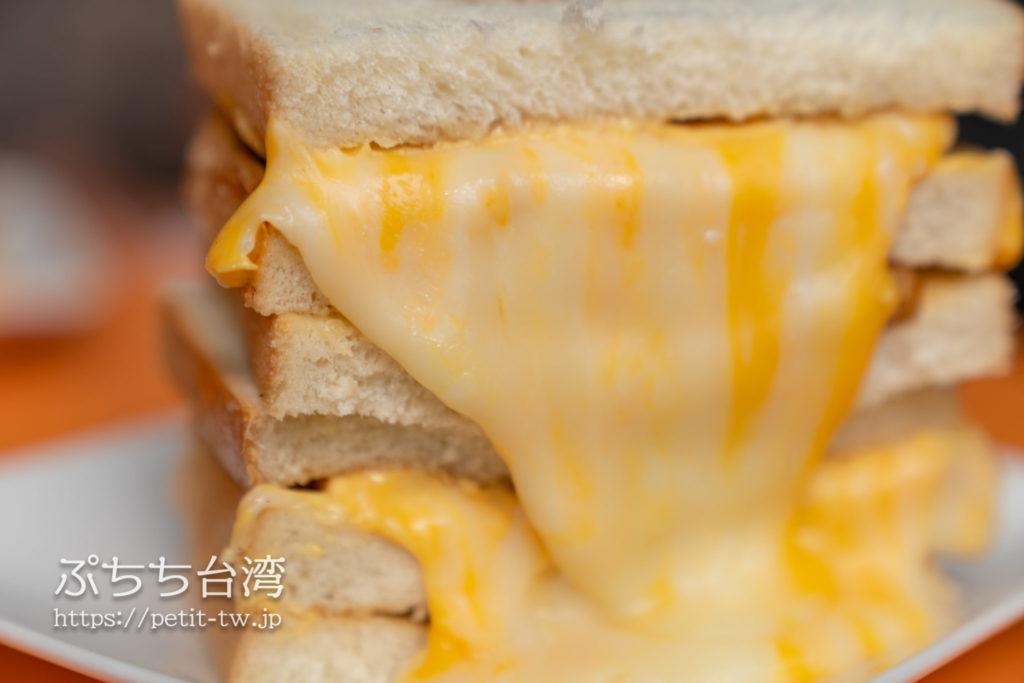 可蜜達Comida炭烤吐司のチーズ
