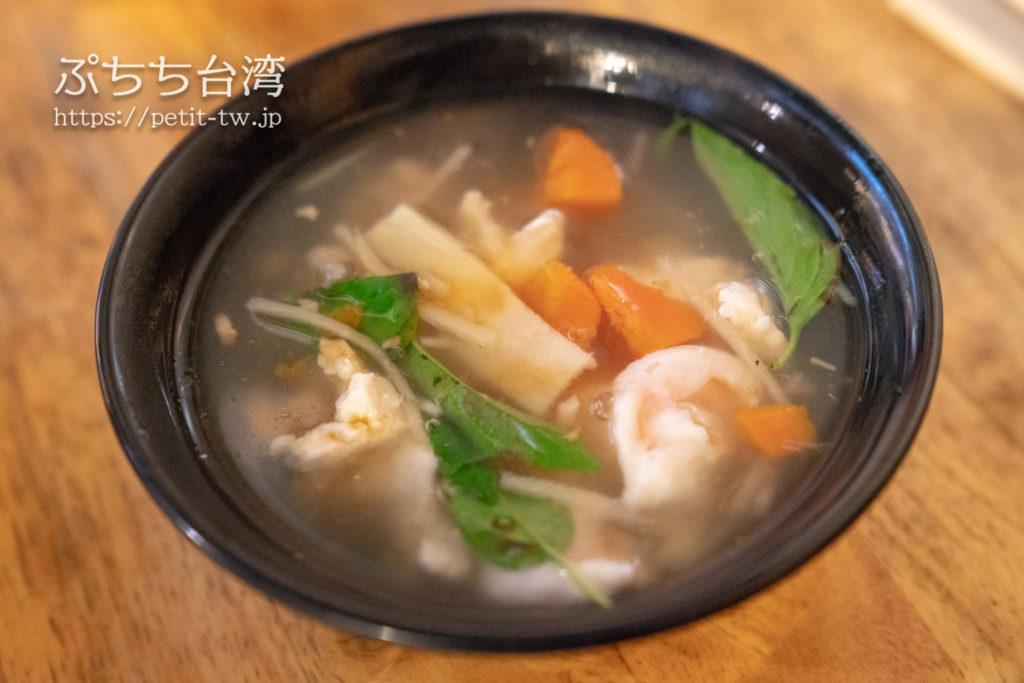 晴光意麺のスープ