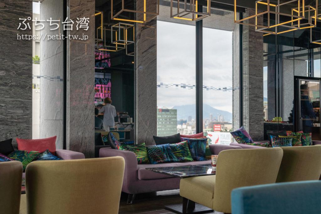 アロフト台北中山の朝食会場