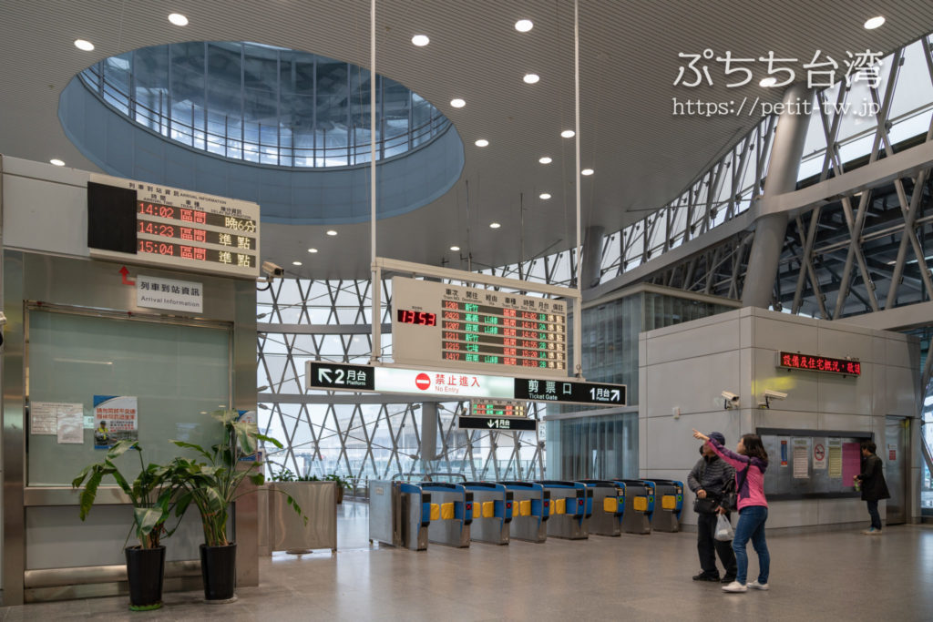 台湾鉄道の基隆駅