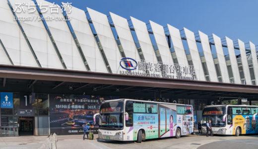 國光客運 台北駅の場所・発着路線