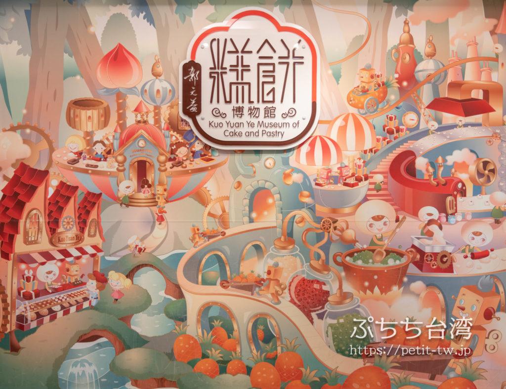 台北の郭元益の博物館