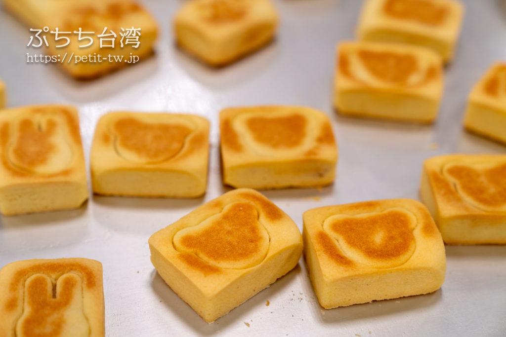 台北の郭元益のパイナップルケーキ作り