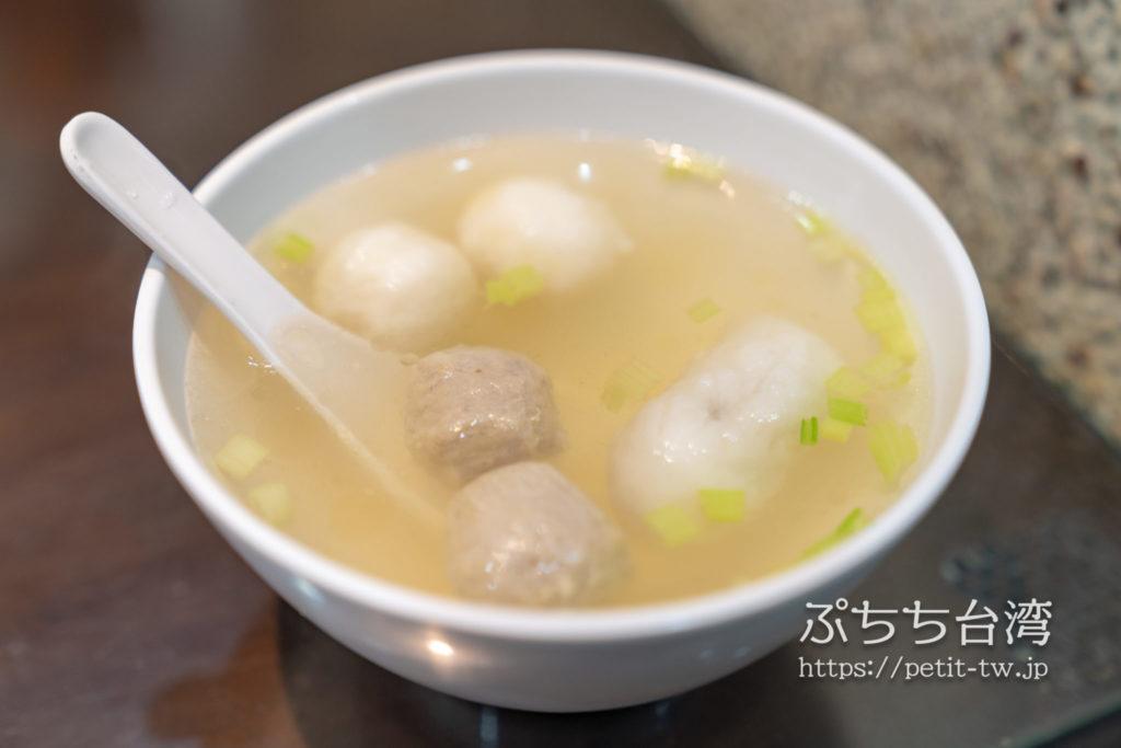 巧之味手工水餃のスープ