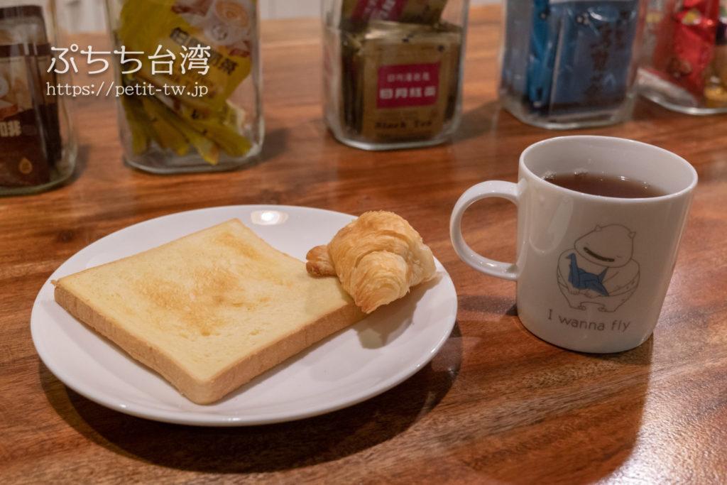 ライトホステル高雄の朝食