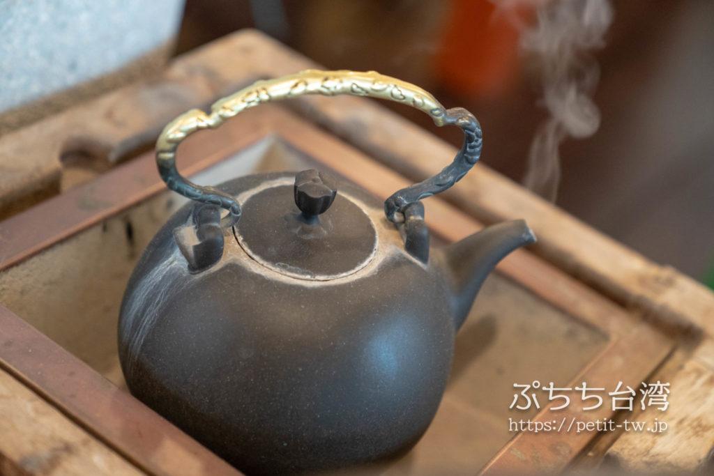 水心月茶坊の茶藝館