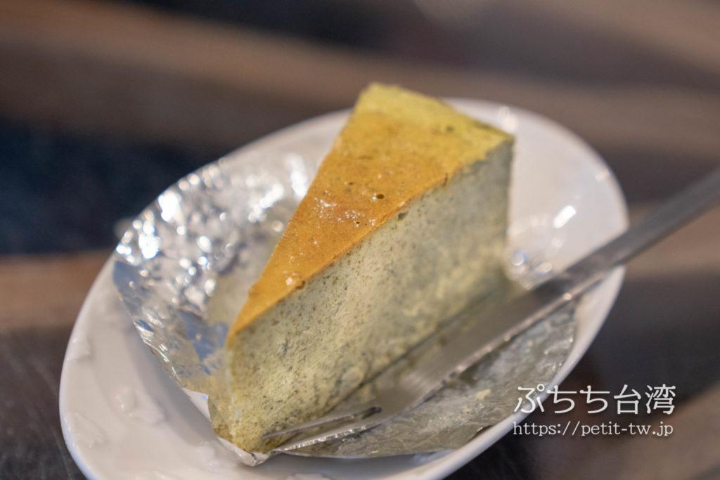 水心月茶坊の烏龍茶チーズケーキ