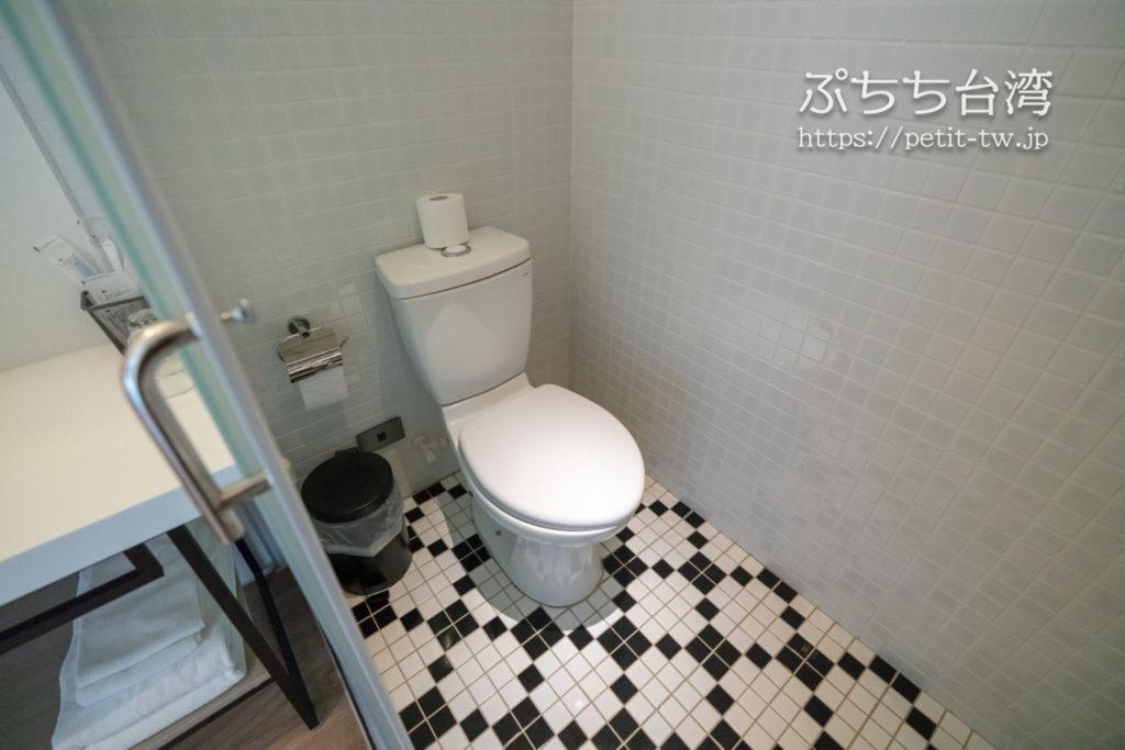 ライトホステル高雄のトイレ