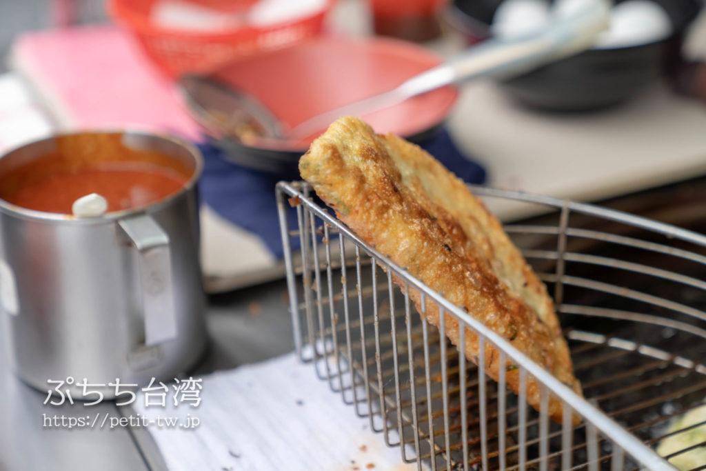 黄福龍脆皮葱油餅のねぎパン
